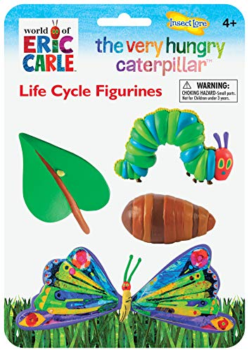 Insect Lore Very Hungry Caterpillar Life Cycle Stages, Green