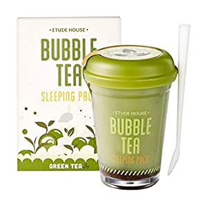 Etude House Bubble Tea Sleeping Pack (100g) (Green Tea)