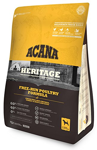 Acana Heritage Free Run Poultry Dog Food, 4.5 Lb