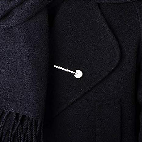 CCJIAC Simple circón Pacman Forma broches para Mujeres niñas ...