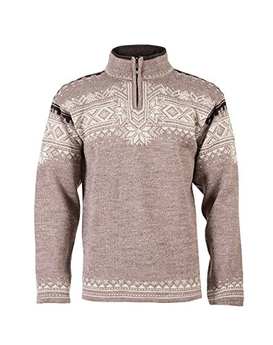 Dale of Norway - Pull pour homme Anniversary, couleur Beige - Mountainstone/Sand/Lava Mel