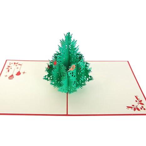 Auguri Di Natale 3d.Deylaying Carte Di Natale 3d Pop Up Cartoline Di Auguri Di Auguri
