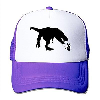 Tyrannosaurus Adjustable Snapback Baseball Cap Custom Mesh Trucker Hat from Huishe1