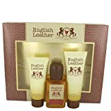 #8: Dana English Leather 3 Piece Gift Set for Men