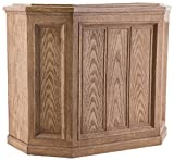 AIRCARE 696 400HB Digital Whole-House Console-Style Evaporative Humidifier, Light Oak