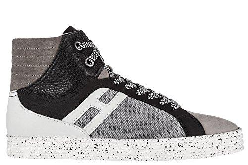 Hogan Rebel Herrenschuhe Herren Wildleder Schuhe High Sneakers rebel r141 basket