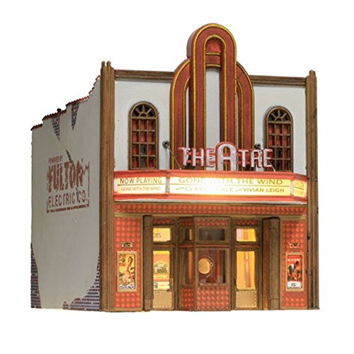 Woodland Scenics Theater BR4944 N scale Built & Ready Lighted LED