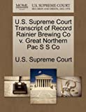 U.S. Supreme Court Transcript of Record Rainier Brewing - Best Reviews Guide