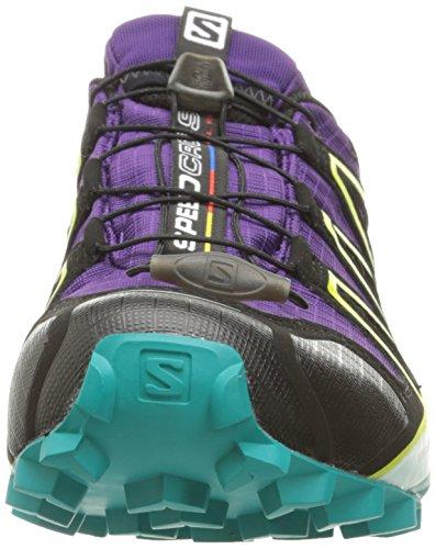 Salomon Donna Speedcross 4 Gtx W Trail Running Acai / Deep Blue Pavone / Zolfo Primavera