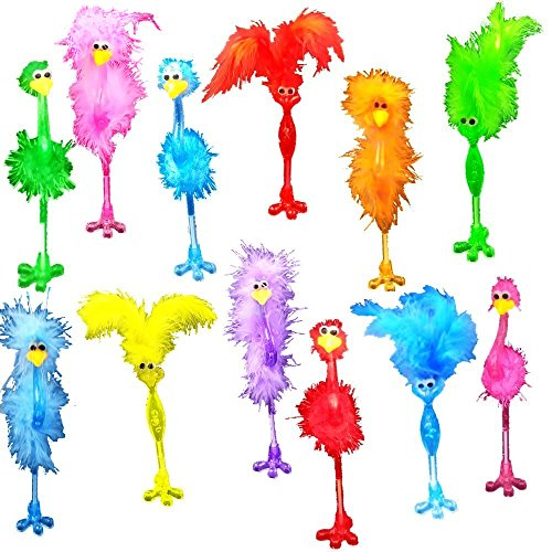BAIVYLE 12 Pack Flamingo Pens Set children Party Favor easter basket, stocking stuffer or birthday!
