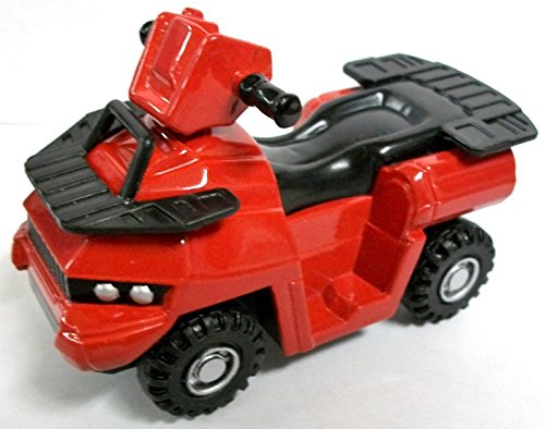 Review Red ATV Die Cast