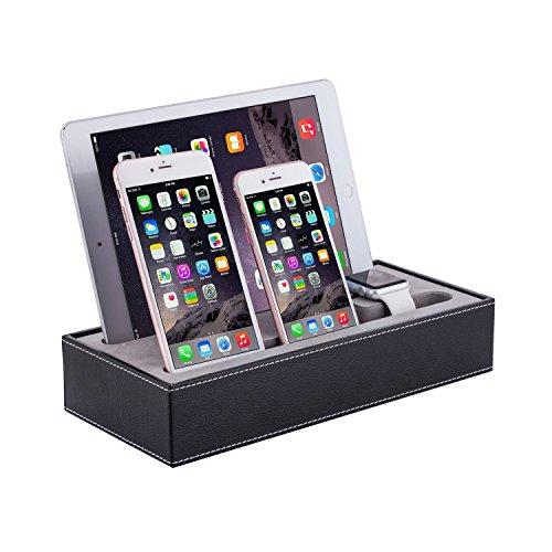 Surwin Ladestation, Ladedock, Apple Watch Stand, Halterung für Apple Watch,iPad, iPhone 6/6 Plus Smartphone usw..