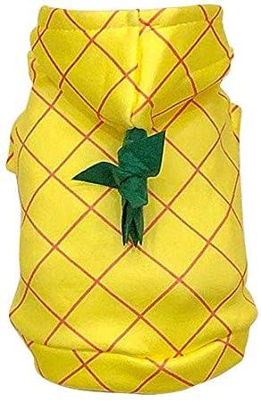 NACOCO Disfraz de piña para Halloween para Mascotas, Cosplay, Gato ...