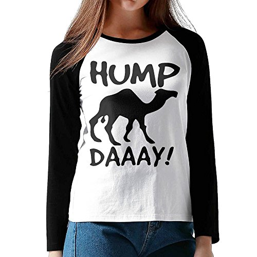 Women's Hump Day Comfy Long Sleeve T-Shirt Basic Tee