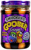 Smucker's Goober Peanut Butter & Grape Jelly Stripes 18 oz