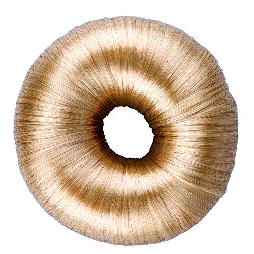 Anleolife Bun Maker/Hair Donut/Hair Bun Donut Hair Piece Bob Maker Hair Tool 55g