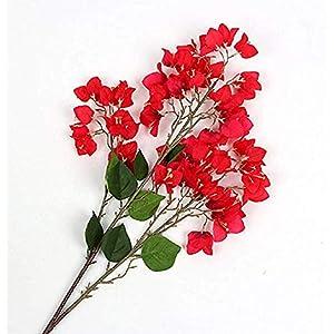 100Cm Artificial Flower Bougainvillea Spectabilis Willd Silk Cloth Flowers for Home Decor Table Decor DIY Flower Arrangement 2