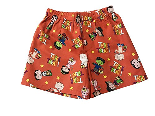 Halloween Trick Or Treat Boys Boxer Shorts Kids Underwear Briefs Underpants ()