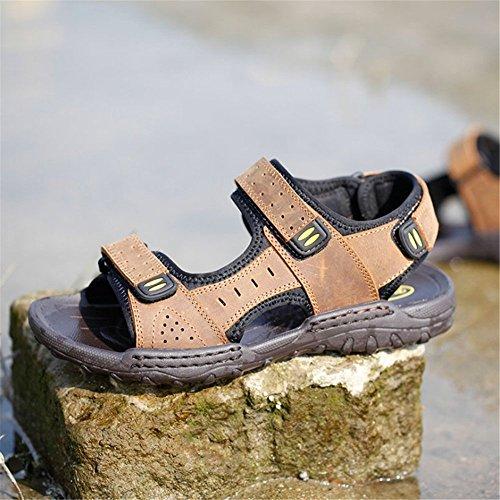 24 0 Colore Outdoor 27 Nero 5 Sports Men's Sandal Dimensione spiaggia Stick EU Neri Traspiranti 42 Sandali Magic CM Wagsiyi Shoe da Beach Marrone 3 2 Scarpe pantofole qRZq7