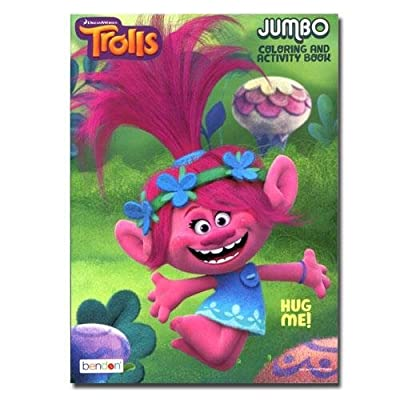 Trolls 96 pg Coloring Book: Toys & Games