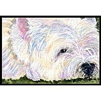 """Caroline's Treasures SS8831MAT Westie Indoor Outdoor Doormat, 18"""" x 27"""", Multicolor"""