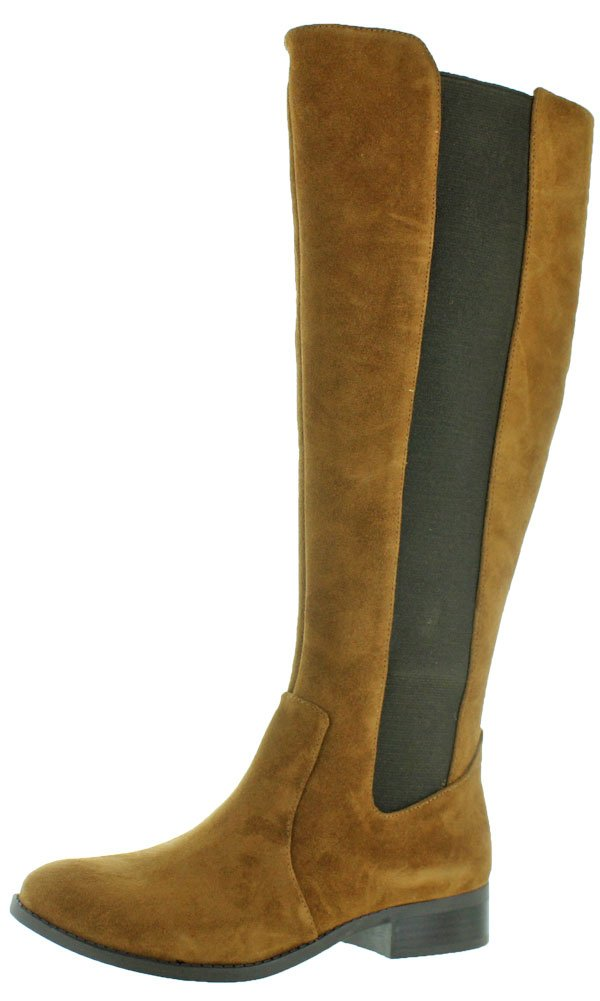 Jessica Simpson Women's Ricel 2 Knee High Leather Boot Brown Size 6