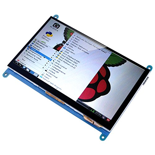 Kuman 7 Inch Capacitive Touch Screen TFT LCD Display HDMI