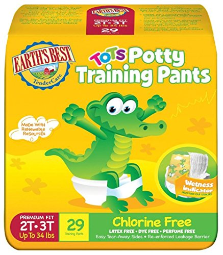 Earth's Best Training Pants - 2T-3T - 116 ct