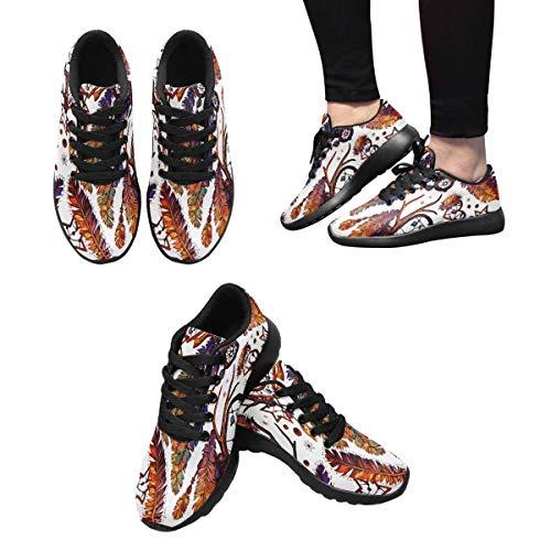 InterestPrint Cross Running Trainers Multi 10 Sneakers Women's rnF6Zwx5Sr