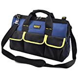 FASITE 16 Inch Multi-Compartment Soft Sided Mechanics Tool Bag 20 Pockets