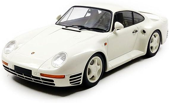 65530 Minichamps Porsche 959 1987 blanco maqueta de coche 1:18 nuevo en OVP