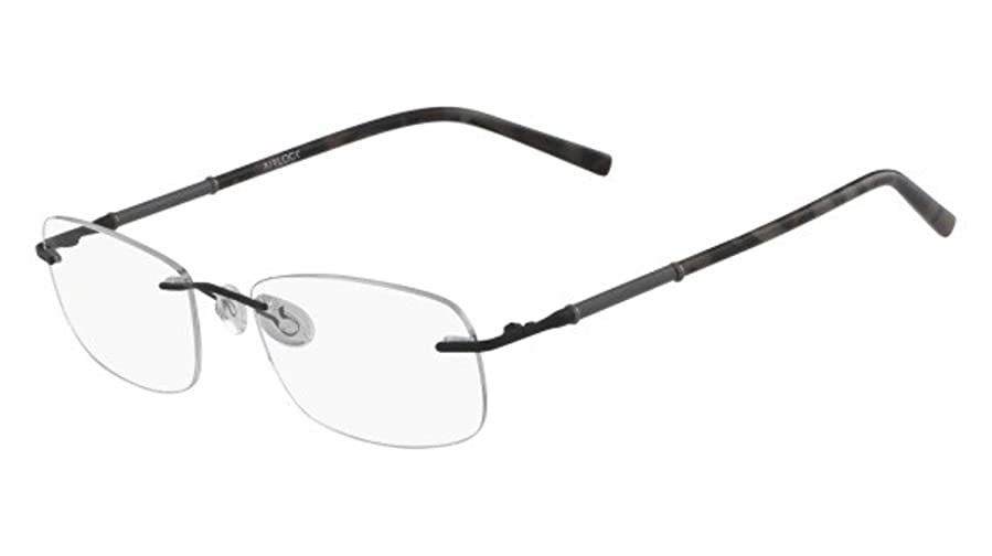 Eyeglasses MARCHON AIRLOCK AL HONOR 001 BLACK at Amazon Men\'s ...