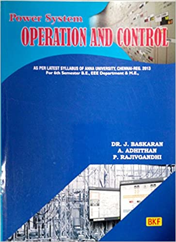 Power System Operation And Control Book