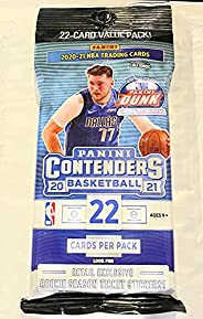 Panini Contenders Basketball 2021 22-Card Value Pack