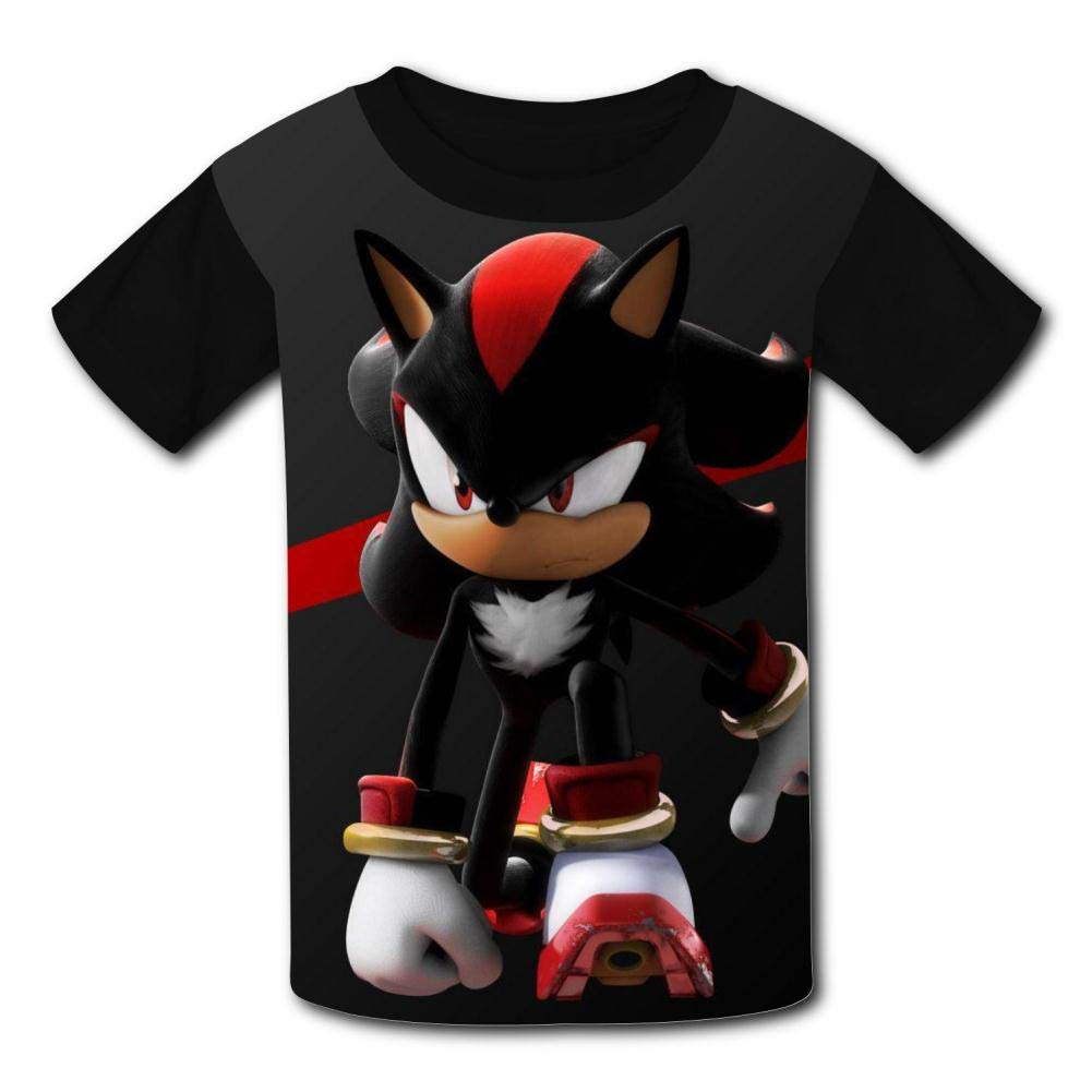 VSHFGC Kid//Youth Sha-Dow The Hedg-ehog T-Shirts 3D Short Sleeve Tees for Girls Boys