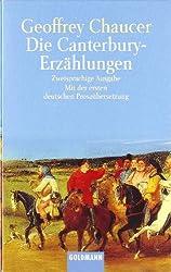 Die Canterbury-Erzählungen: Zweisprachige Ausgabe. Mit der ersten deutschen Prosaübersetzung. 3 Bände als Kassettenausgabe