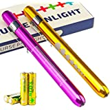 Escolite Medical Led Penlight with Pupill Gauge Reusable with battery