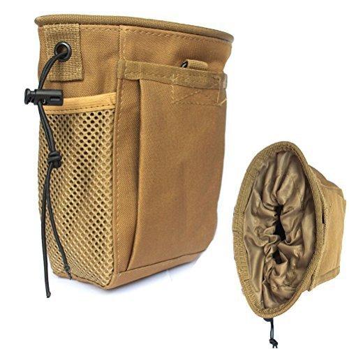 3fff6b9e294a Creatrill Tactical Molle drawstring Magazine Dump Pouch, - Import It All