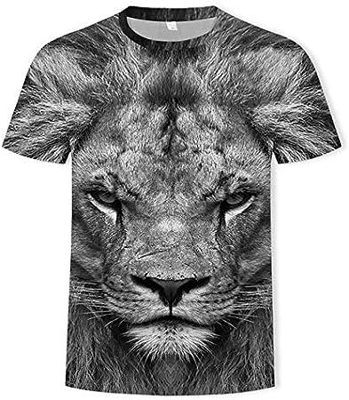 YMKXXB Camiseta para De Hombre Camiseta De Tigre con ...
