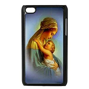 JenneySt Phone CaseVirgin Mary And Jesus FOR IPod Touch 4th -CASE-11