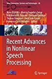 img - for Recent Advances in Nonlinear Speech Processing (Smart Innovation, Systems and Technologies) book / textbook / text book