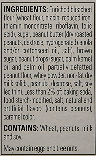 Krusteaz Bakery Style Double Peanut Butter Cookie Mix 16 Oz (Pack of 2) by Krusteaz (Image #2)