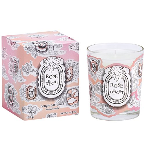 (Diptyque Rose Delight Candle Full Size - Limited Edition)