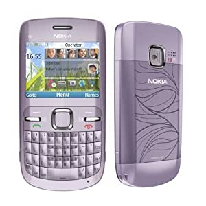 Nokia C3 Acacia Nokia C3 Acacia Purple International Factory Unlocked Quad-Band SIM Phone with Warranty