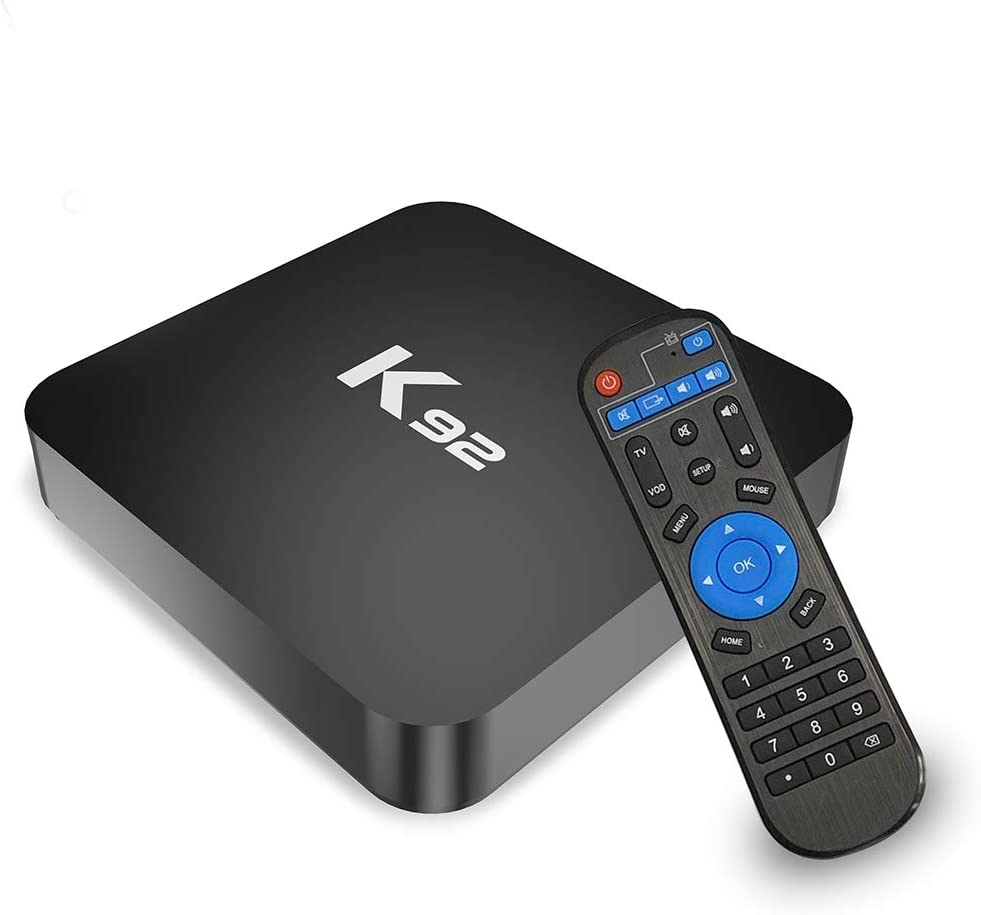 Android 8.1 TV Box, SAMMIX K92 Smart TV Box 4GB+32GB Amlogic S905X2 Quad-Core 64bit Cortex-A53 with Dual-WiFi 5G/2.4G, 3D 4K Ultra HD/Gigabit Ethernet/BT 4.1/USB 3.0 Streaming Media Player
