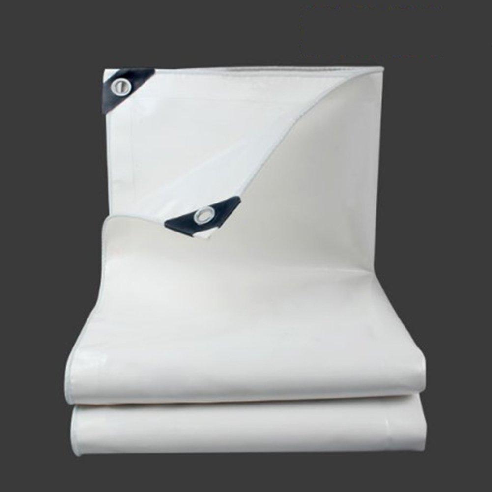 TDJDYQ Lona Impermeable para Lluvia, Protección Solar, Protección Solar, para Exteriores, Camión, Refugio, cobertizo, Tela Gruesa de PVC Resistente al ...