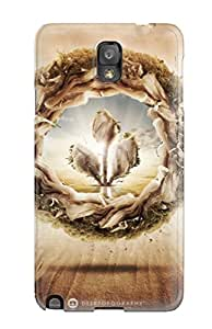 Egbert Drew's Shop New Snap-on MarvinDGarcia Skin Case Cover Compatible With Galaxy Note 3- Wasteland
