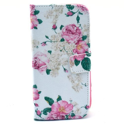 Price comparison product image Mybase-magnet Design Colorful Painted Wallet Style Pu Flip Leather Folio Case Cover for Google Nexus 5