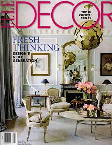 Elle Decor May 2016 Fresh Thinking Design's Next Generation PDF