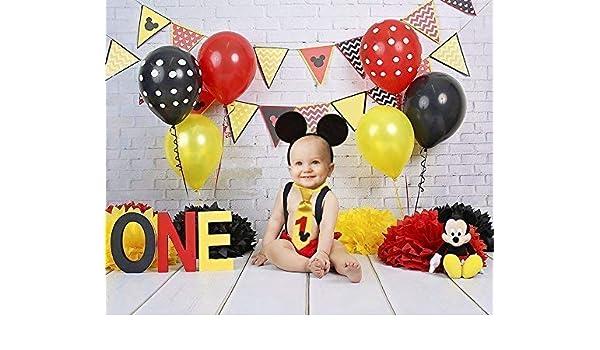 Traje Smash Cake primer cumpleaños 1 año niño (orejas + ...